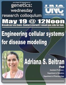 Genetics Colloquium_21 0519 Adriana Beltran