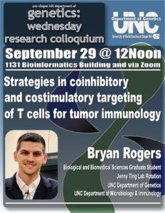 Genetics Colloquium_21 0929 Bryan Rogers