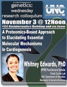 Genetics Colloquium_21 1103 Whitney Edwards
