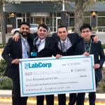 UNC med students LabCorp winners