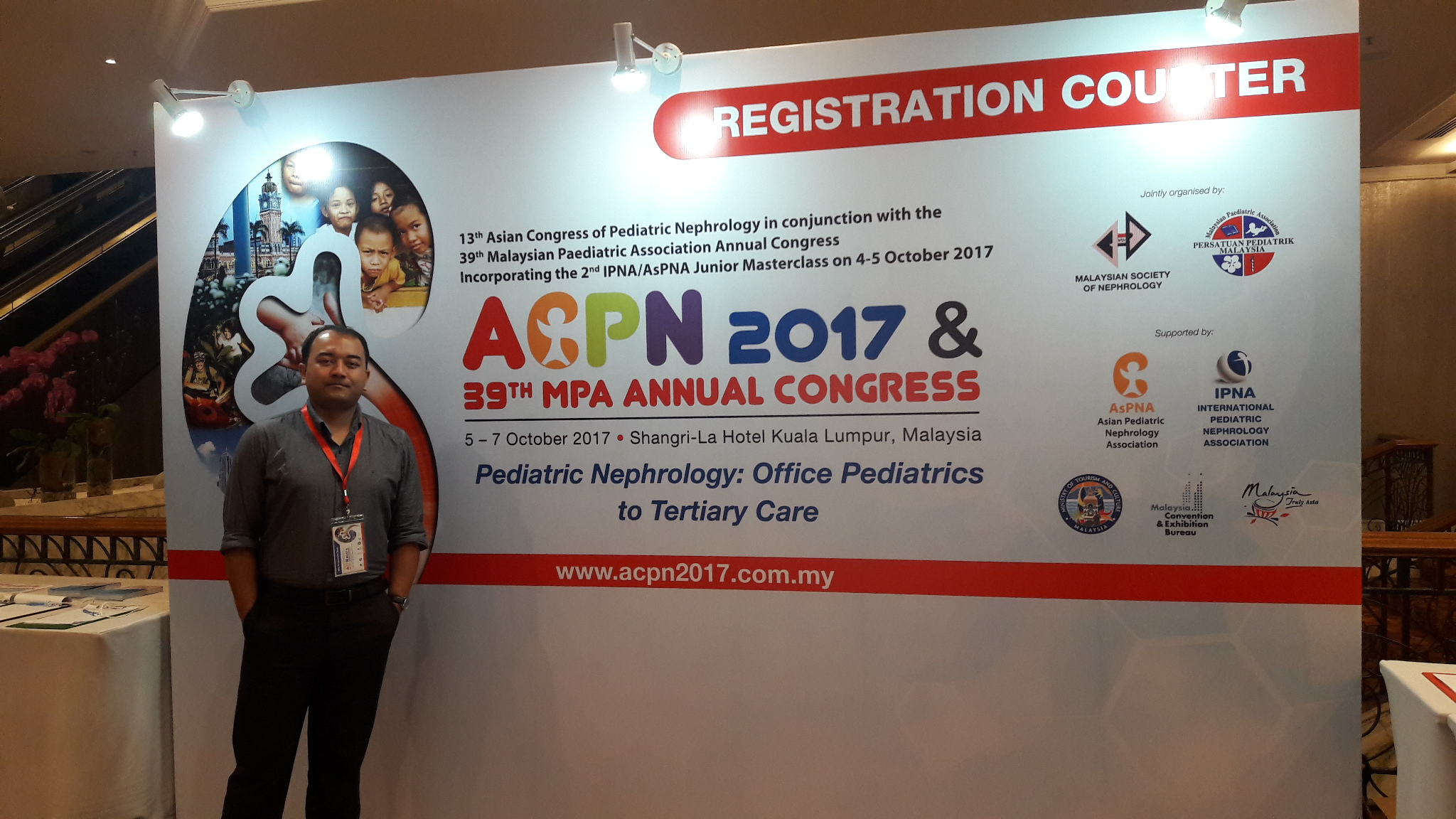 Dr. Dinesh Pradhan in Malaysia
