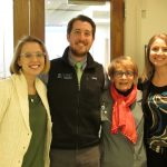 Kathryn Haroldson, MD, Anthony Mazzella, MD, Loretta Muss and Lila Stanton, MHA