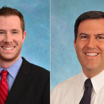 Hospitalists Christopher Caulfield, MD, and John Stephens, MD