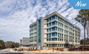 The New UNC Eastowne Medical Office Building.