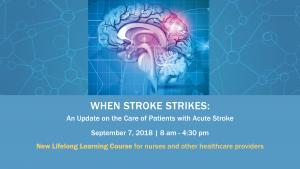 When Stroke Strikes