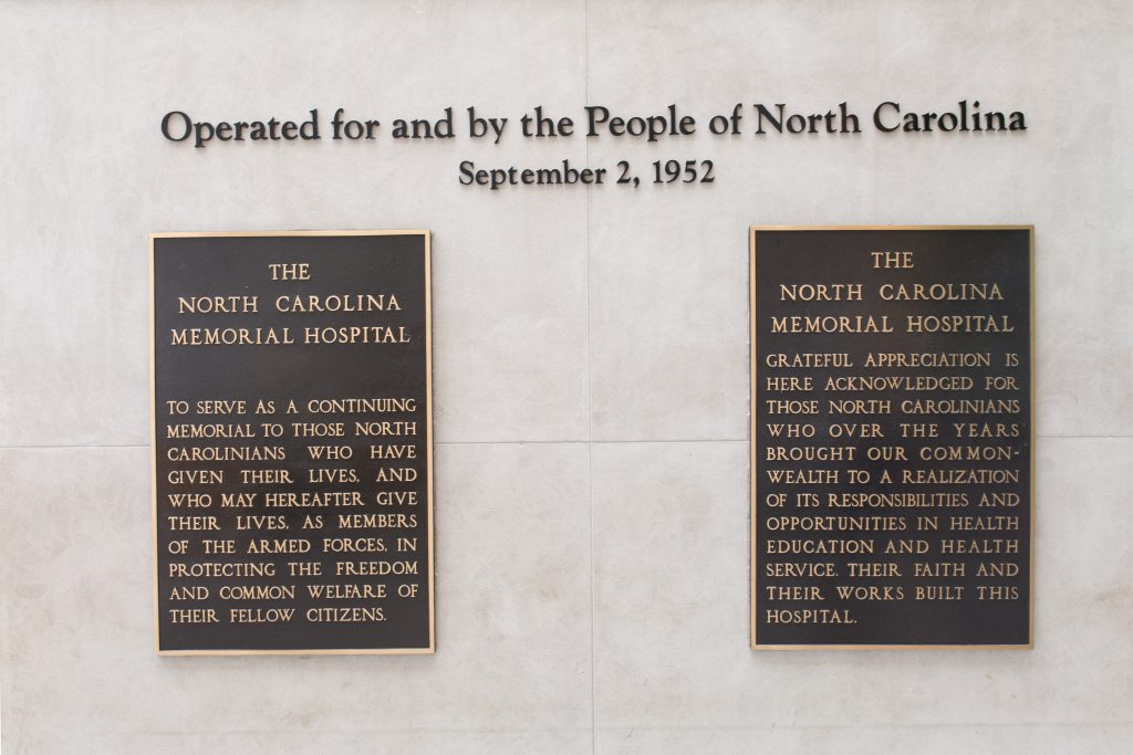 UNC Hospitals: Proud to be operated for and by the people of North Carolina