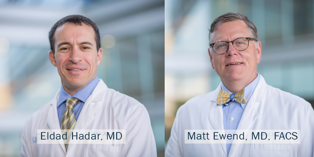 Drs. Hadar and Ewend