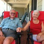 Martha Jean Green and her husband, Clay
