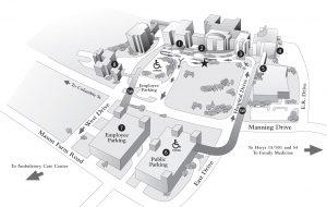 Medical Campus Map