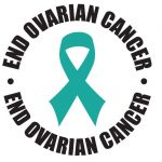 The ovarian cancer plate's official logo