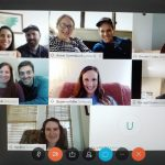 Centering Group 48 meeting on a Virtual format on April 28th, 2020.