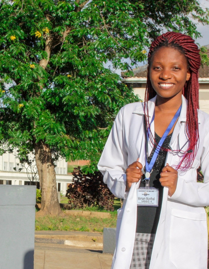 Visiting Malawian Medical Student Makes the Most of Summer Experience