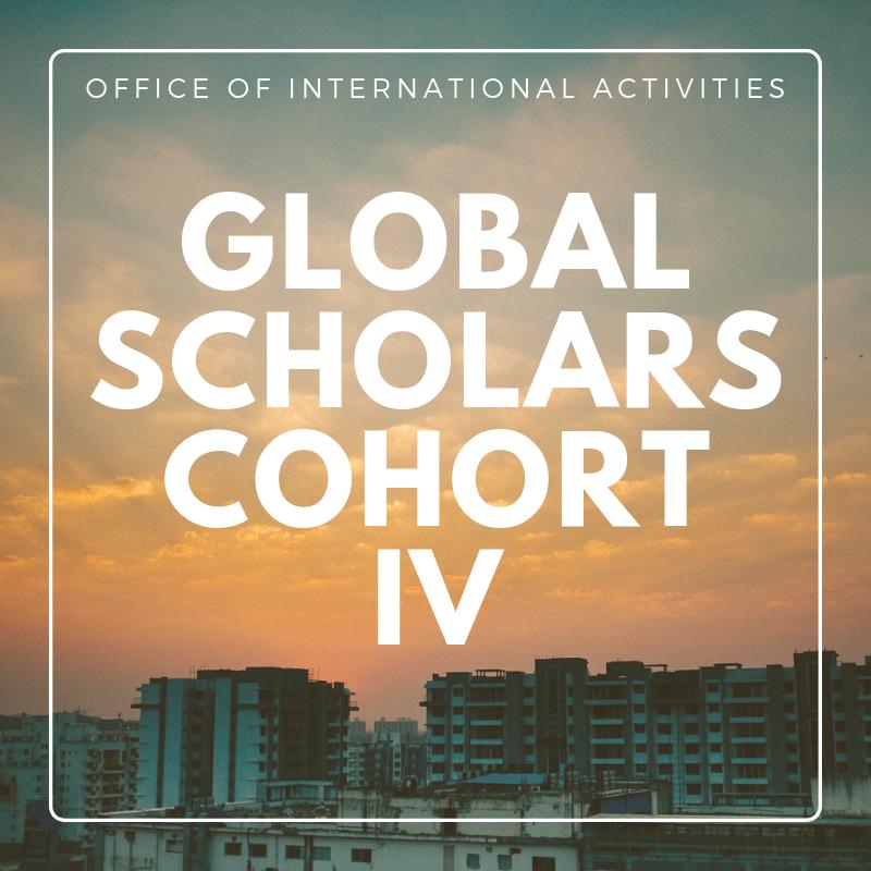 New Cohort of Global Health Scholars