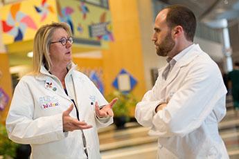 Urology doctors talking