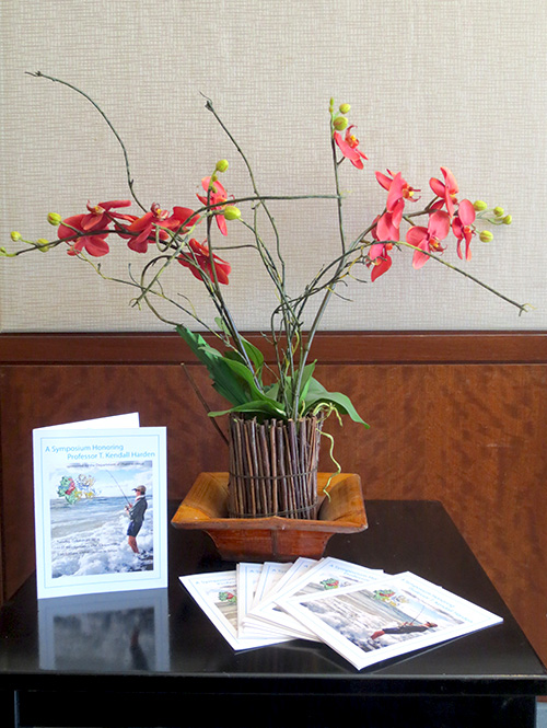 Program and flowers