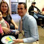Devon Blake and family