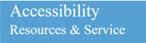 Logo for the UNC Accessibility Resources and Services (ARS). Links to https://ars.unc.edu/