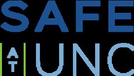 Logo for the Safe at UNC program. Links to https://safe.unc.edu/
