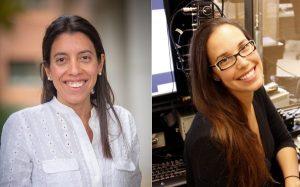 Dr. Jimena Giudice and Dr. Zoe Mcelligott - Jefferson Pilot Fellowship Award