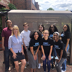 Carolina Summer Fellows group photo after completion of the program