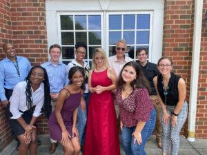 Carolina Summer Fellows 2021 Group photo after final presentations