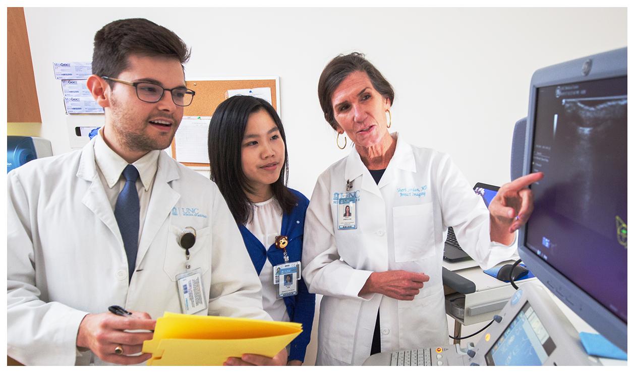 Dr. Sheri Jordan and School of Medicine alums