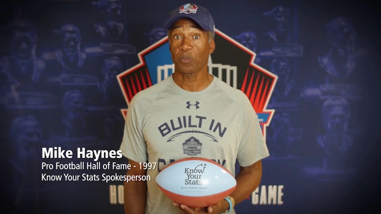10 Prostate Cancer Facts with Hall of Famer Mike Haynes