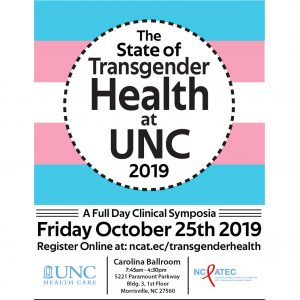 The State of Transgender Health at UNC 2019