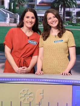 "UNC Residents Pauline Filippou, MD (Urology) and Emily Newton, MD (General Surgery) Play On ""Wheel of Fortune"""