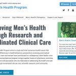 Header on Mens Healthy website